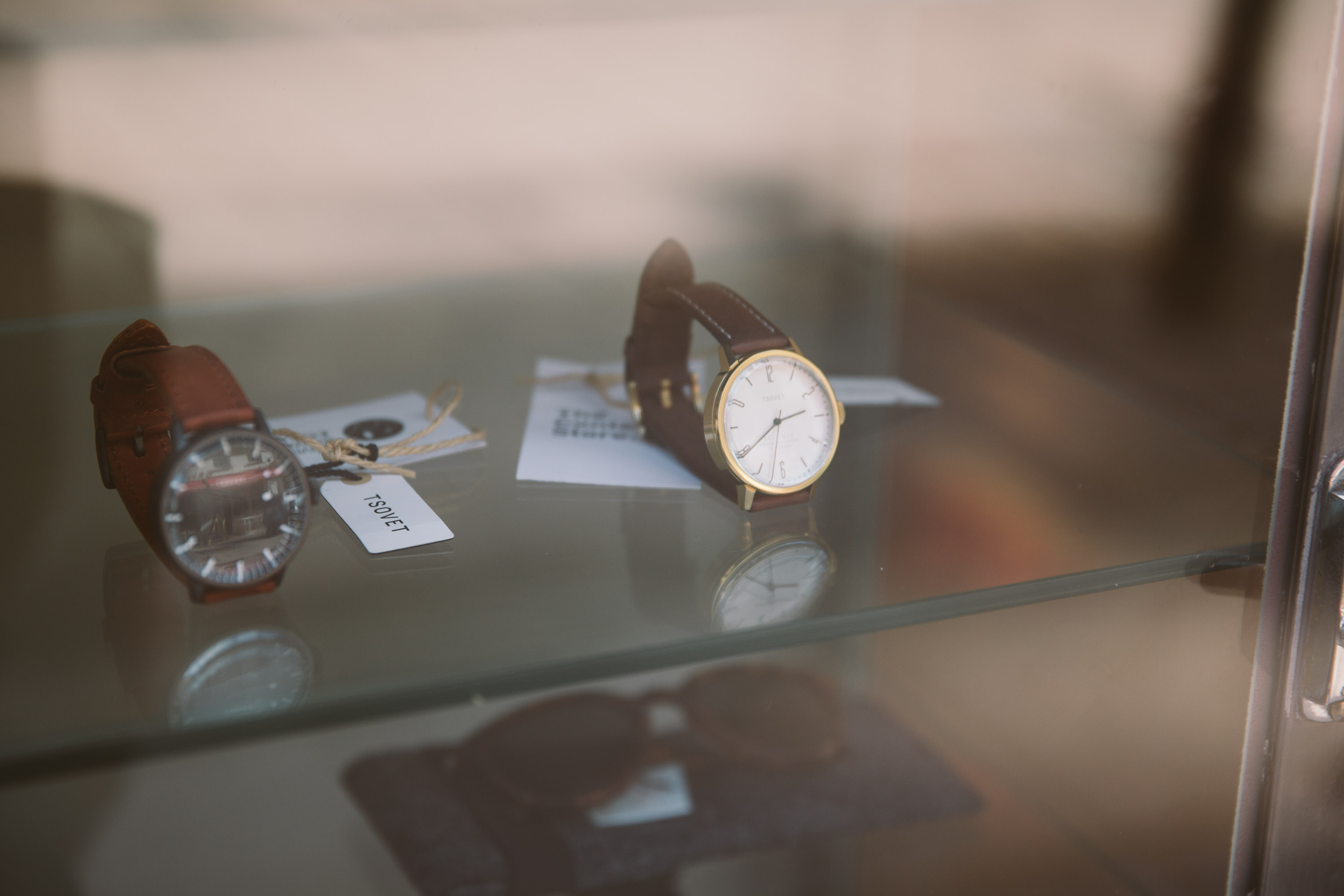 vintage watch close up in clerkenwell