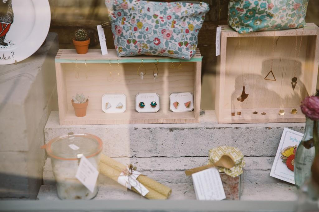window display in clerkenwell