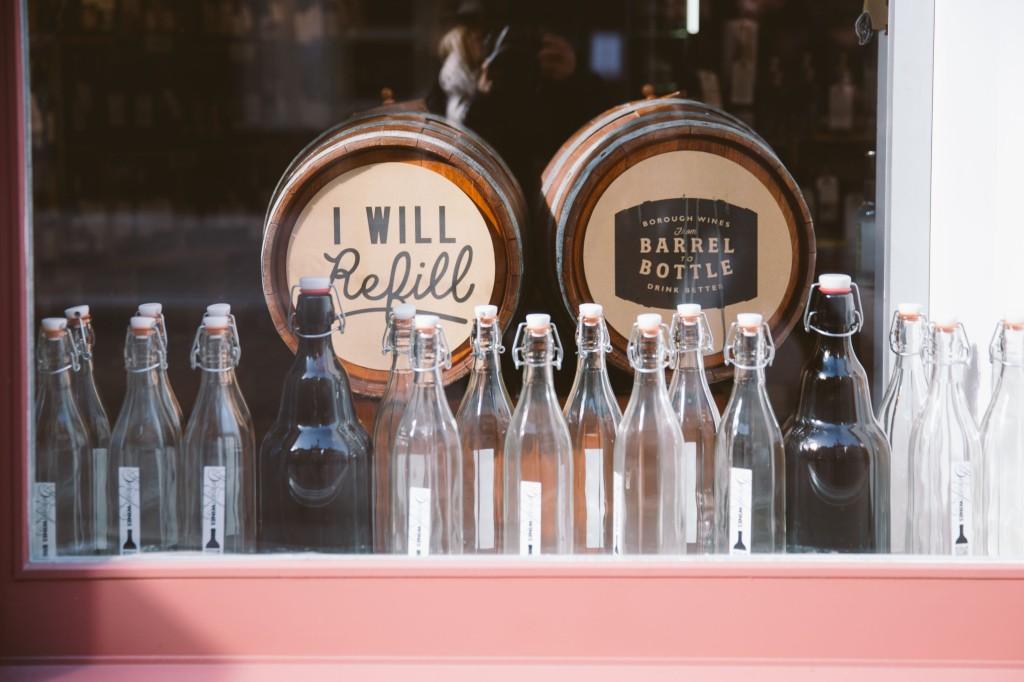 i will refill barrel bottle