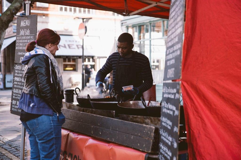 street food in clerkenwell