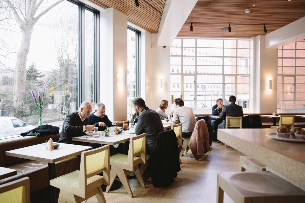 Coworking cafe clerkenwell london