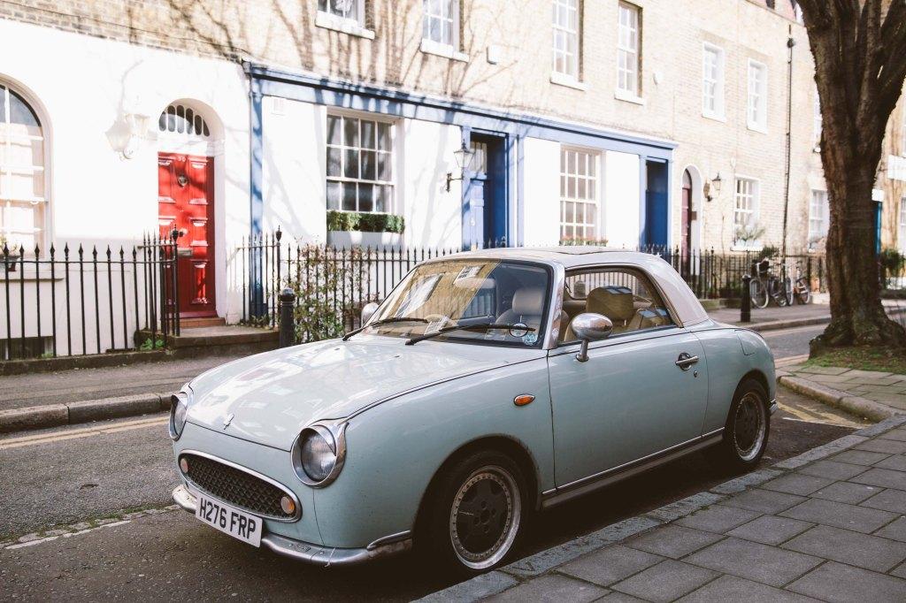 Nissan Figaro Car in Clerkenwell