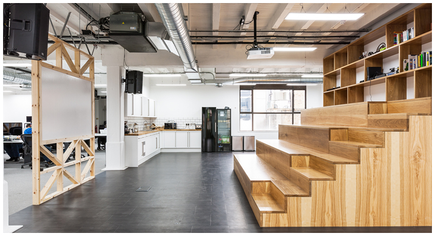 GoCardless clerkenwell office space london