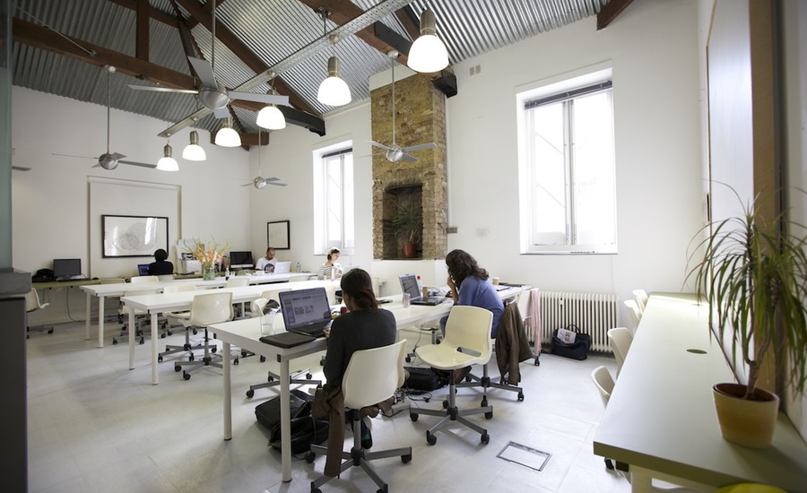 The cube coworking office space london