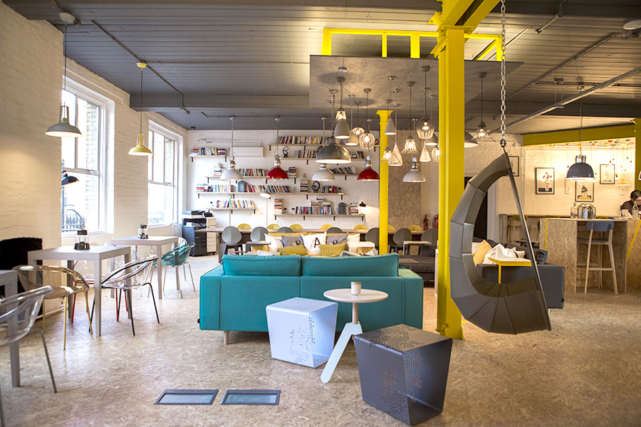 coolest offices in London - uncommon islington
