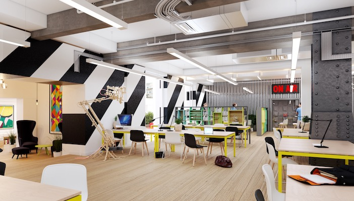 coolest offices in London - alphabeta shoreditch