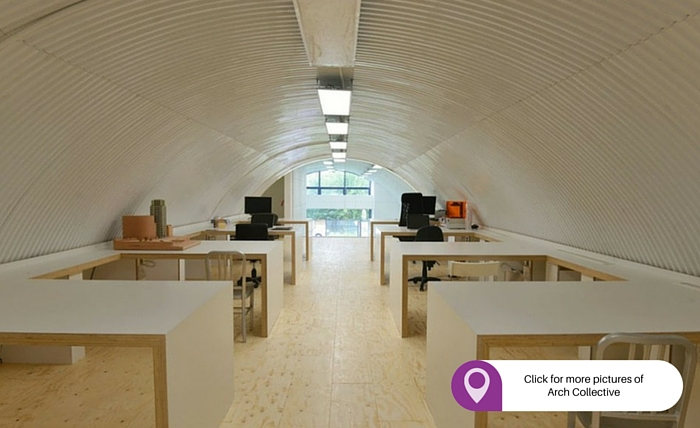 Arch Collective best places to rent an office in London