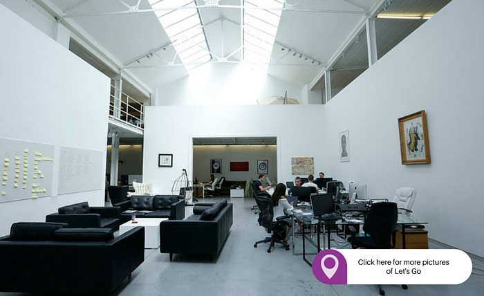 Let's Go best place to rent an office in London