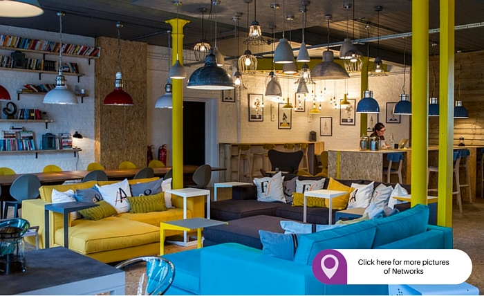 Networks.Islington best places to rent an office in London cool office space