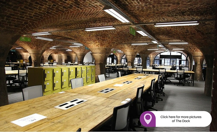 The Dock best places to rent an office in London