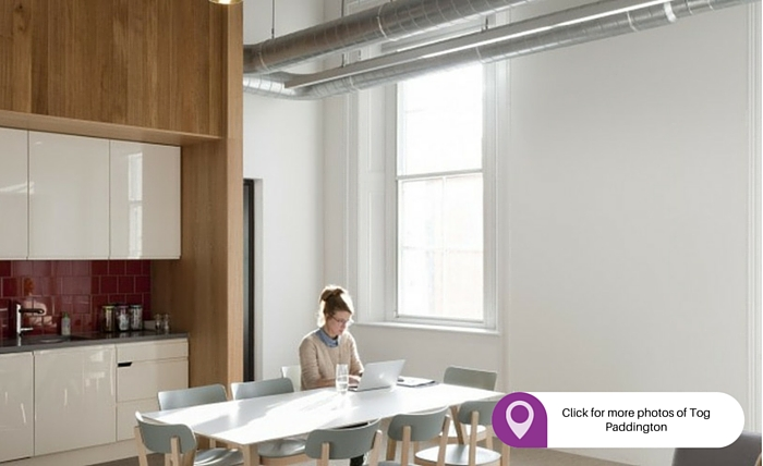 Tog Paddington best place to rent an office in London
