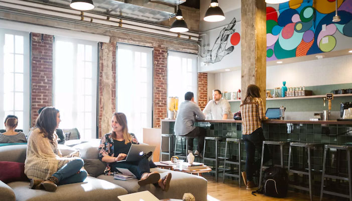 coolest offices in London - wework aldwych covent garden
