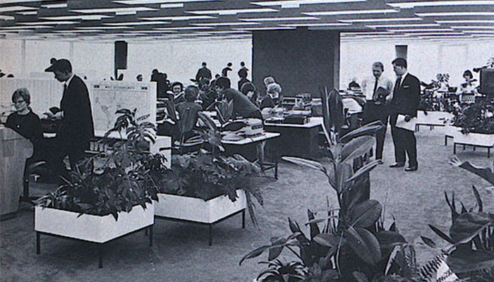 Bürolandschaft: The History of the Office