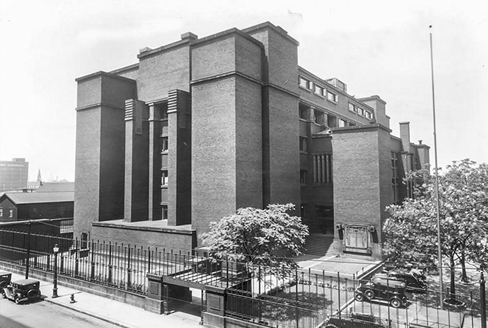 History of the Office: Larkin Adiministration Building