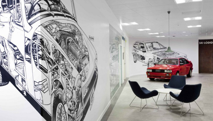 Manchester's Creative offices - AutoTrader