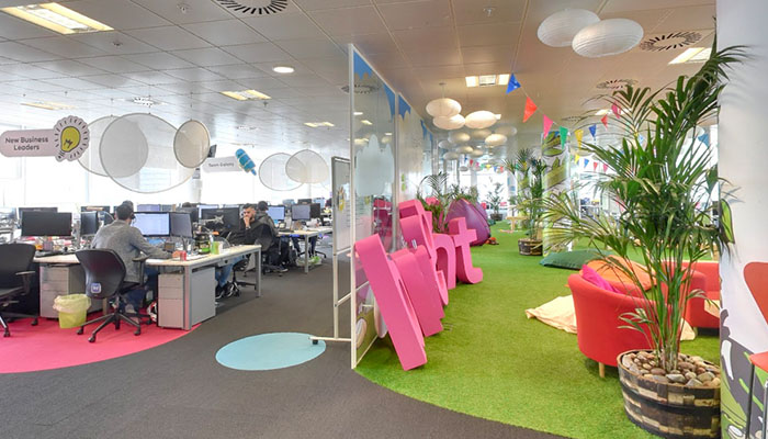 Bright HR - one of Manchester's coolest offices