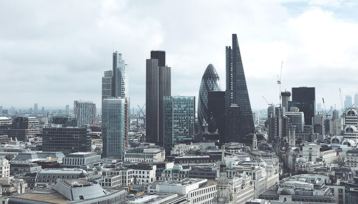 Skyline of London during the day