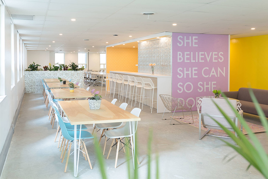 Make Lemonade, the women-only workspace in Toronto, Canada