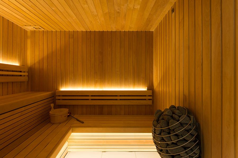 TransferWise sauna