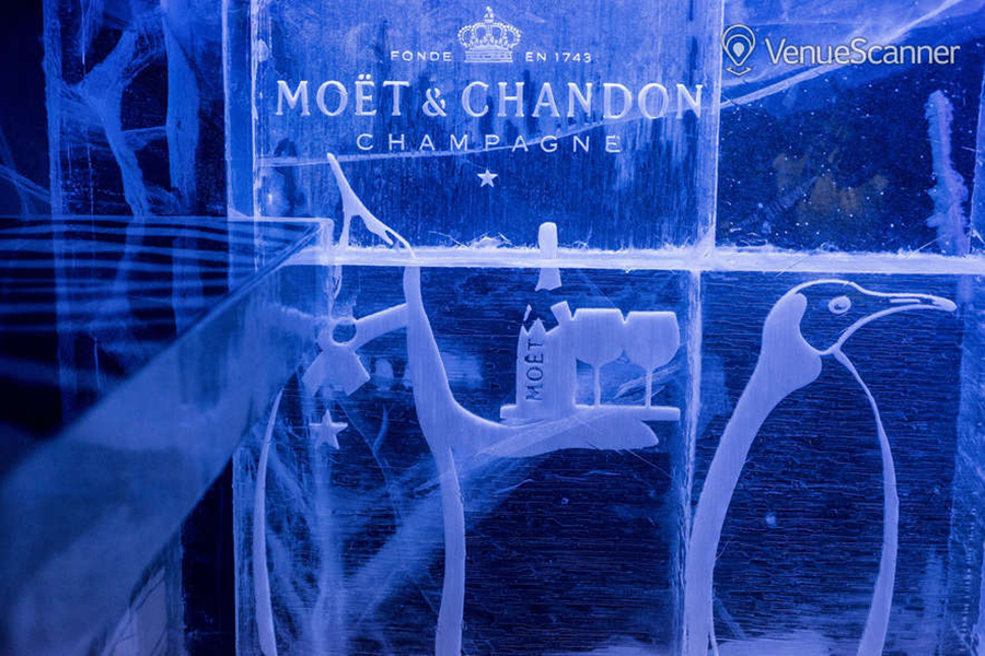 Icebar 2016 Design, Wild In The City.   Photograph by Peter Kindersley