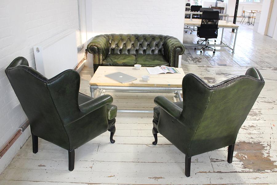Canvas sofas